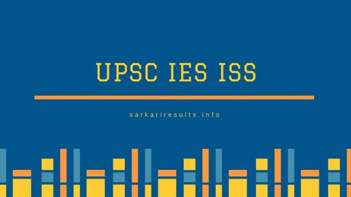 upsc ies iss