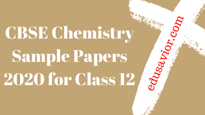 CBSE Chemistry sample papers
