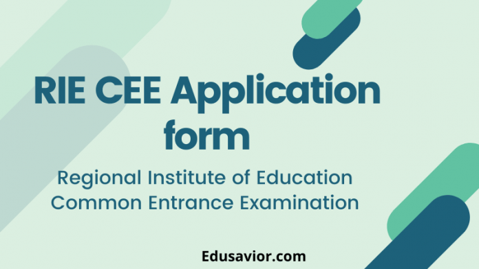 RIE CEE Application form