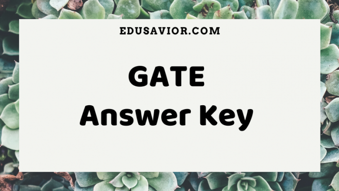 Gate Answer Key 2020