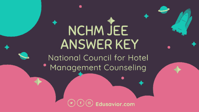 NCHM JEE Answer Key