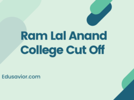 Ram Lal Anand College (RLAC) Cut Off